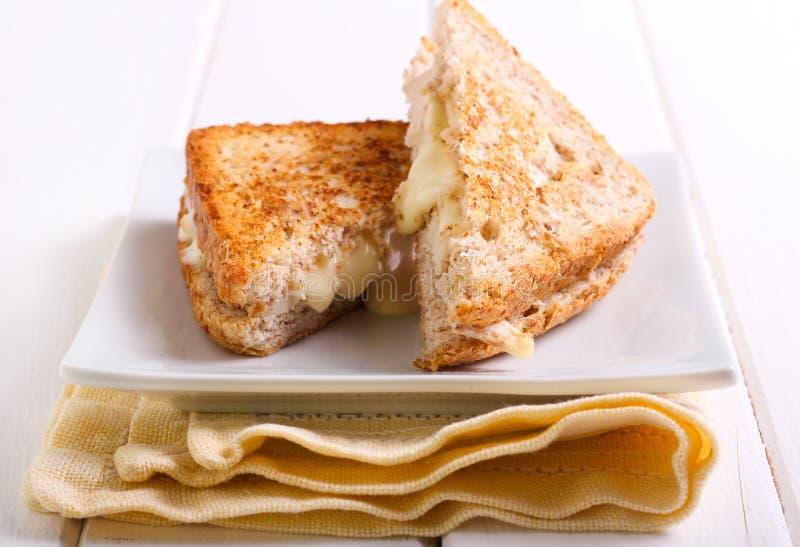 Toasted bran sandwich stock photo