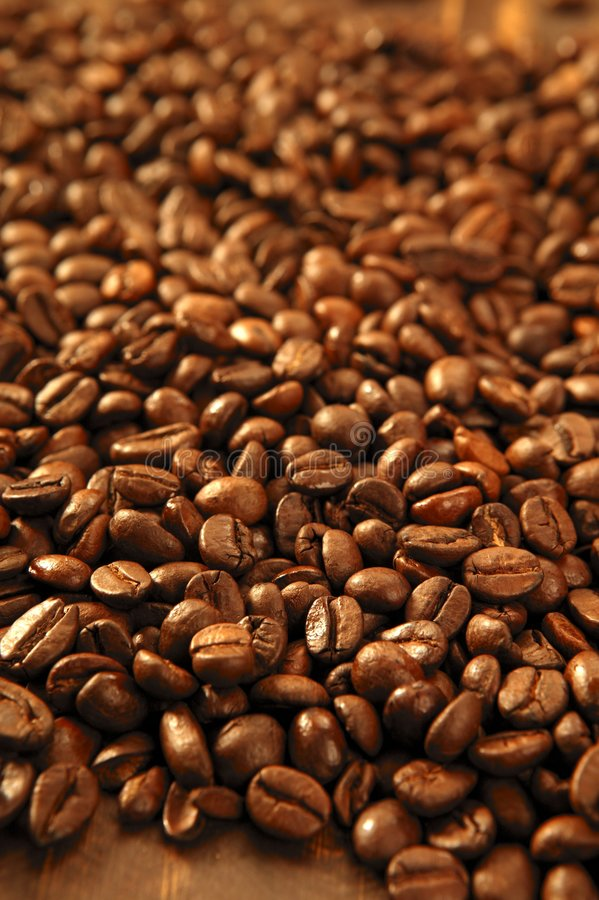 Free Toasted Coffe Beans Texture Stock Photos - 9346393