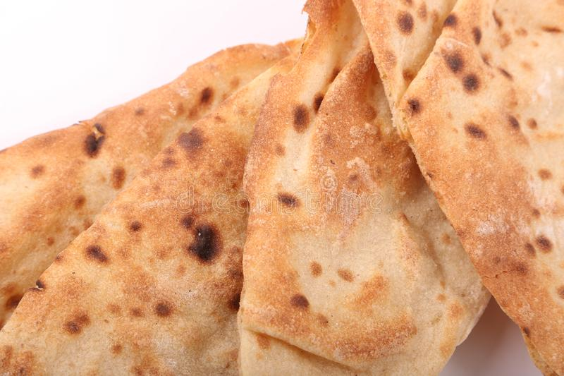 Toasted Egyptian Bread royalty free stock images