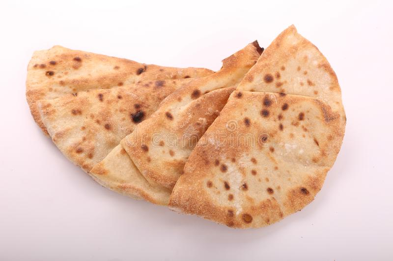 Toasted Egyptian Bread stock photography