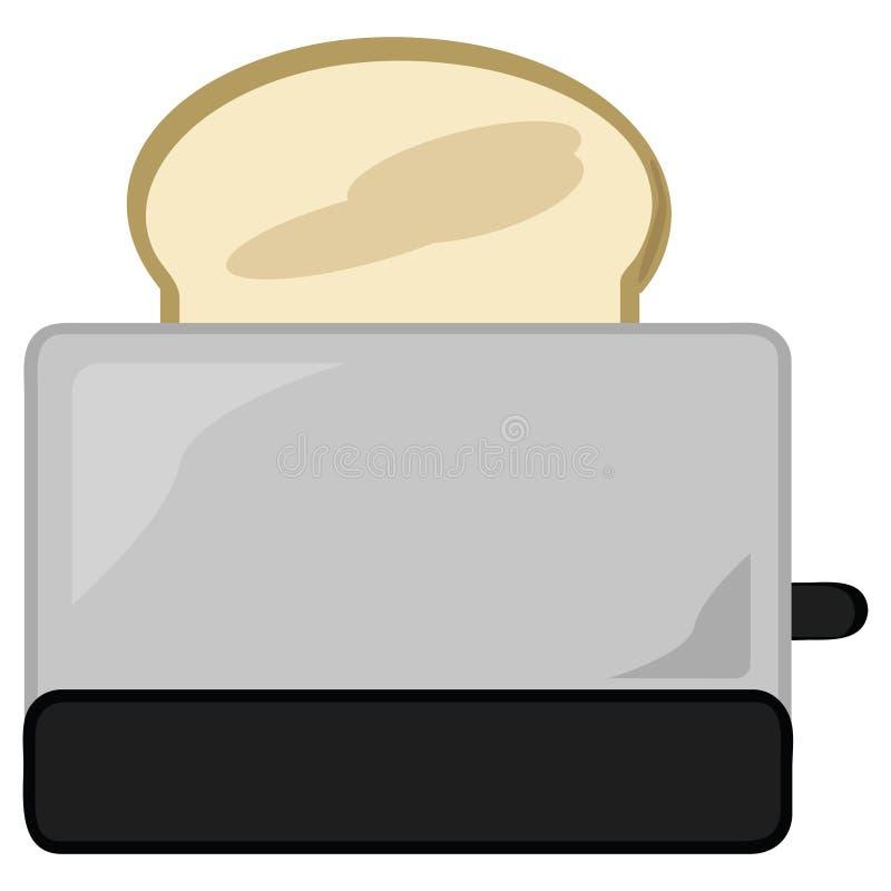 Toaster lizenzfreie abbildung