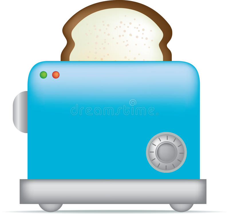 Download Toaster stock vector. Image of retro, bread, fifties - 10984694