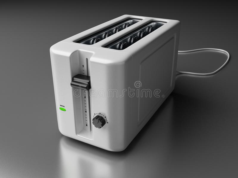 Download Toaster stock illustration. Image of shiny, object, cook - 11405572