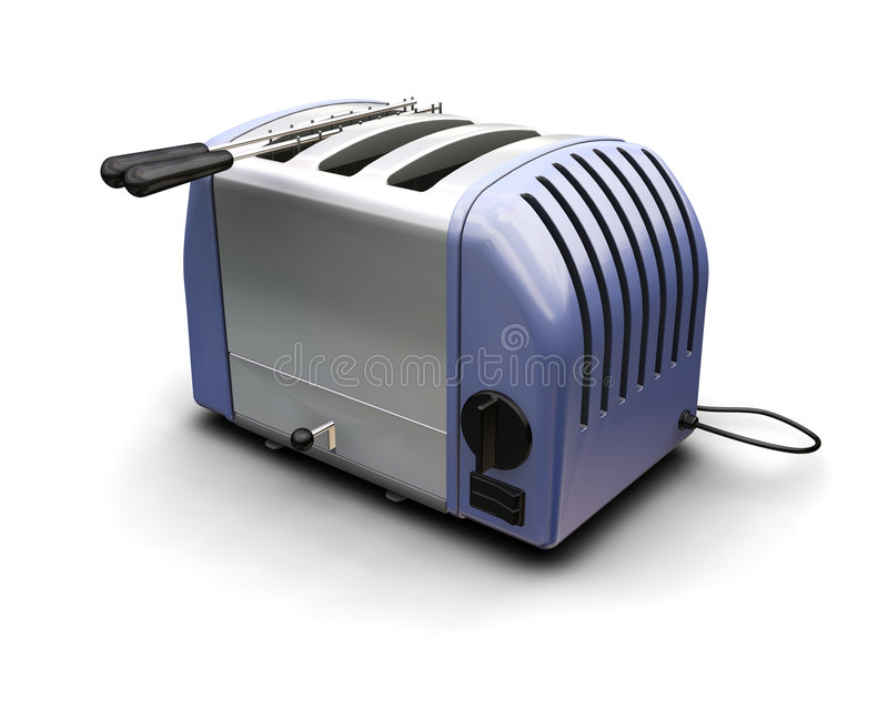 Download Toaster stock illustration. Image of render, retro, toaster - 2891247