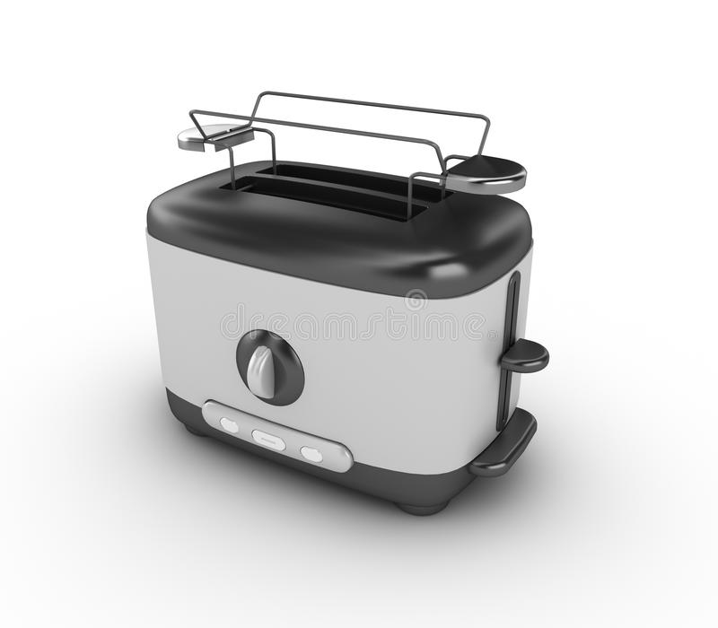 Download Toaster stock illustration. Image of contemporary, stainless - 29601730