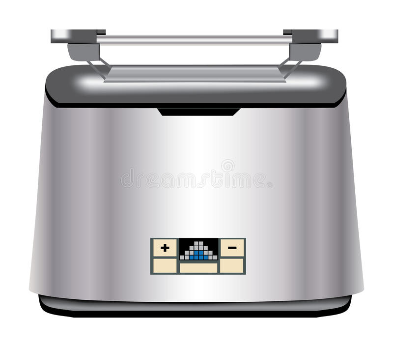 toaster royaltyfri illustrationer