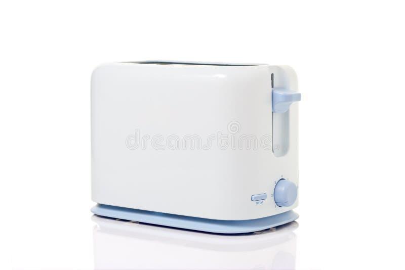 Toaster against white background royalty free stock image