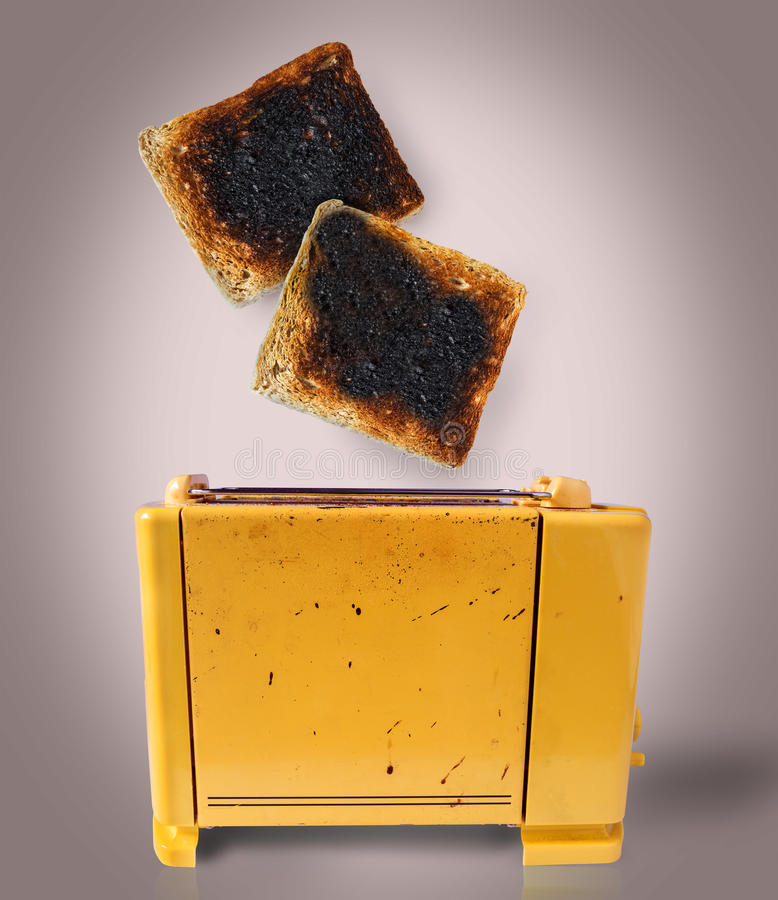 Toaster chaotic royalty free stock image