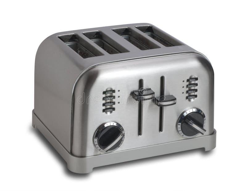 Toaster, getrennt lizenzfreie stockbilder