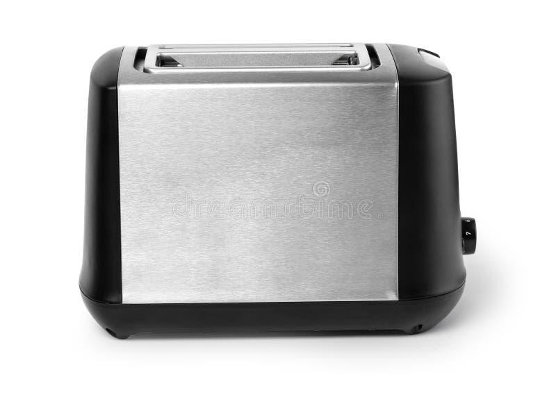 Toaster getrennt worden auf weißem Hintergrund lizenzfreie stockbilder