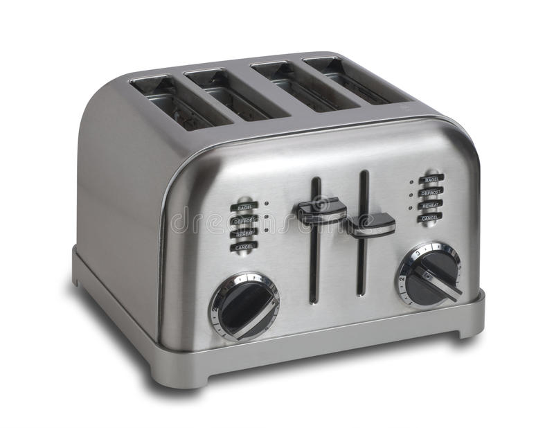 Toaster,isolated royalty free stock images
