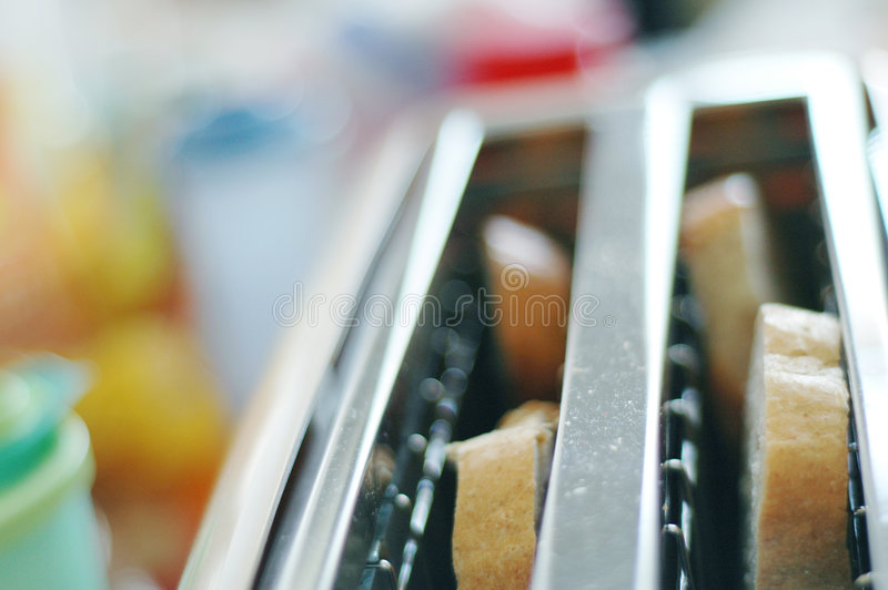 Download Toaster on kitchen #5 stock image. Image of table, eating - 463955