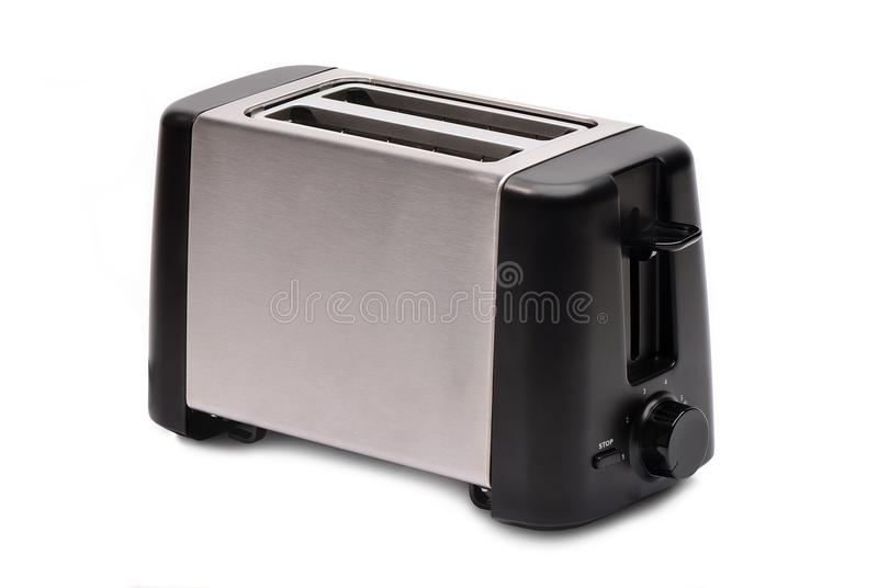 Toaster. New toaster on white background stock photo