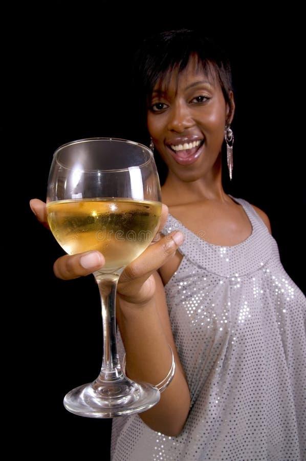 Toasting Wine royalty free stock photos