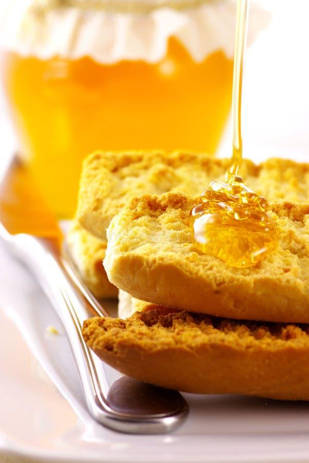 Toasts with Honey