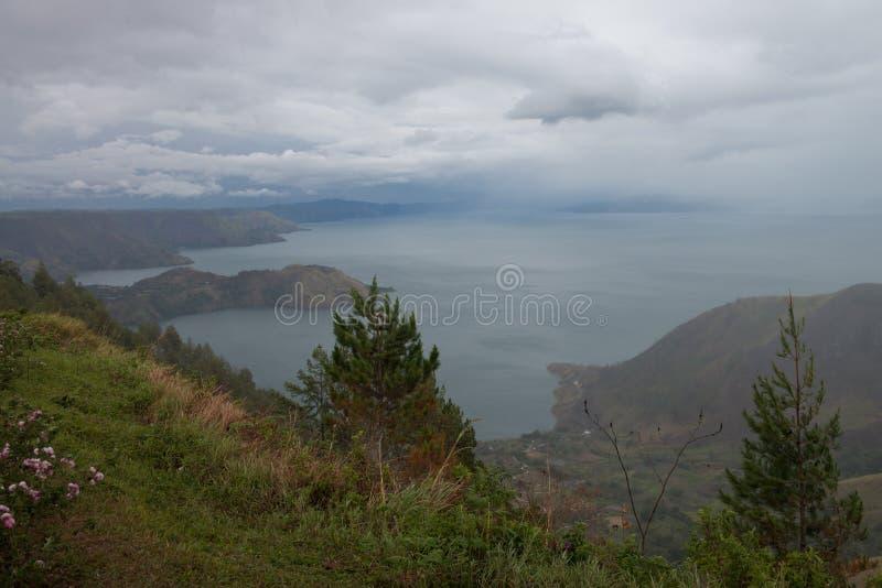 Toba湖 图库摄影