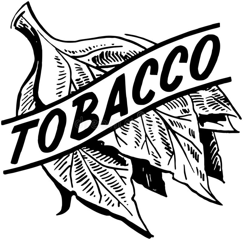Tobacco vector illustration