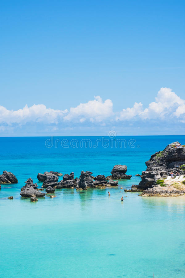 Tobacco Bay Rocks and Sea royalty free stock photography