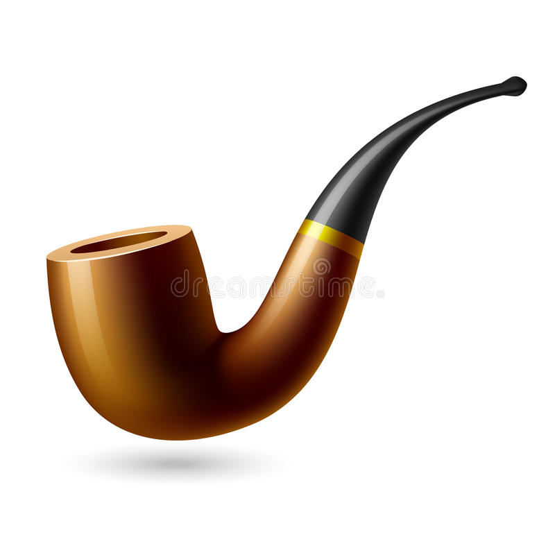 Download Tobacco pipe stock vector. Image of antique, pipe, activity - 19229927