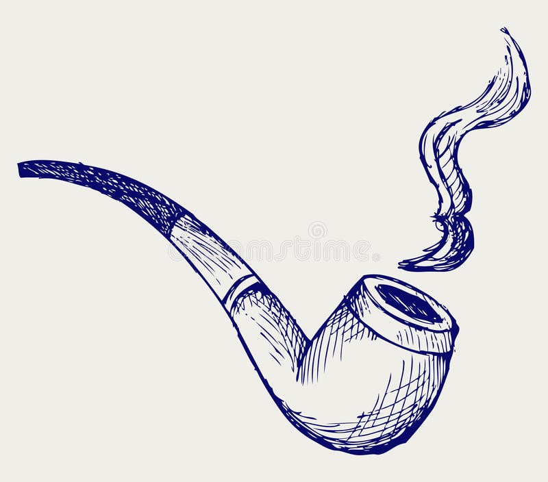 Tobacco Pipe Stock Images