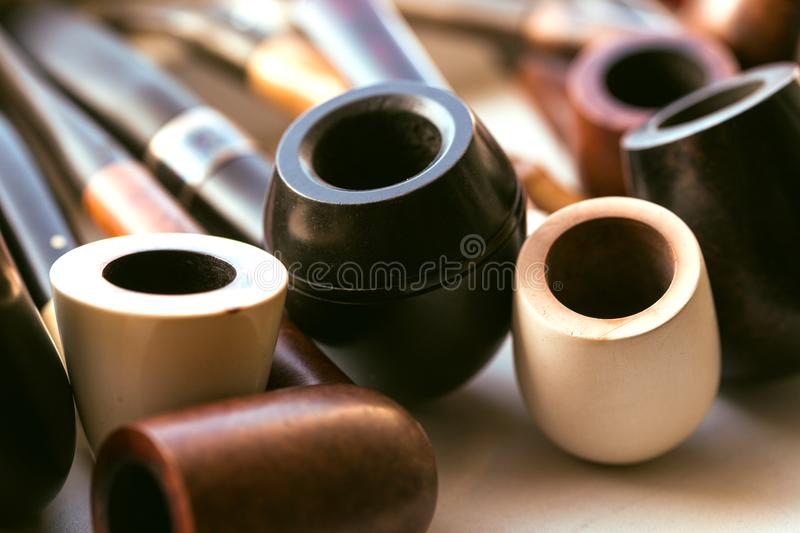 Tobacco-pipe stock images