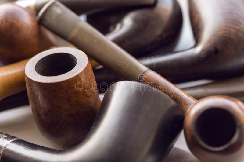 Tobacco-pipe royalty free stock photography
