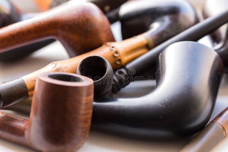 Tobacco-pipe stock photo