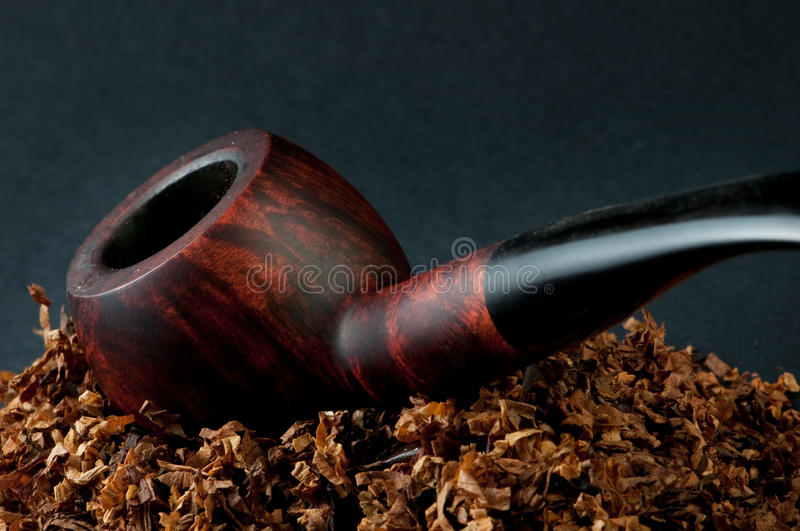 Tobacco and prince pipe royalty free stock photos