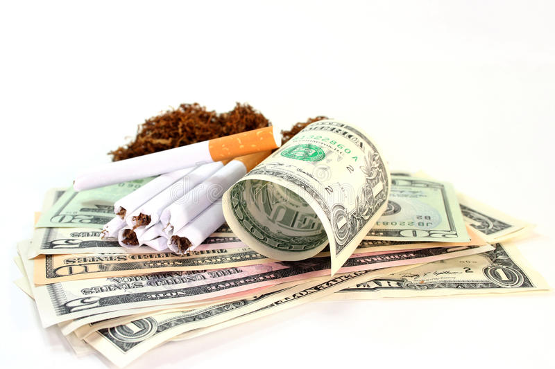 Tobacco tax royalty free stock photo