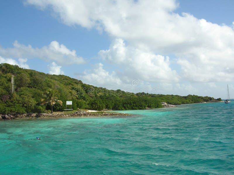 Download Tobago Cays marine reserve stock photo. Image of rocks - 16252614