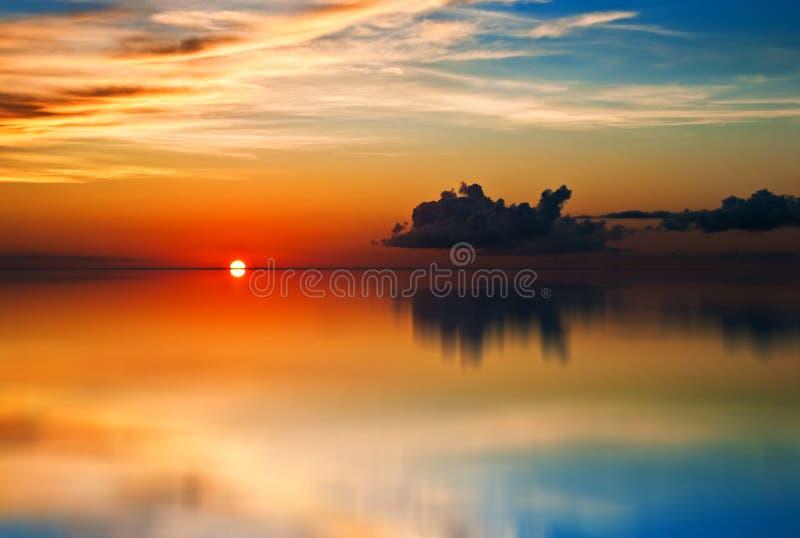 Download Tobago (Trinidad And Tobago) Sunset Reflection Stock Photography - Image: 25383222