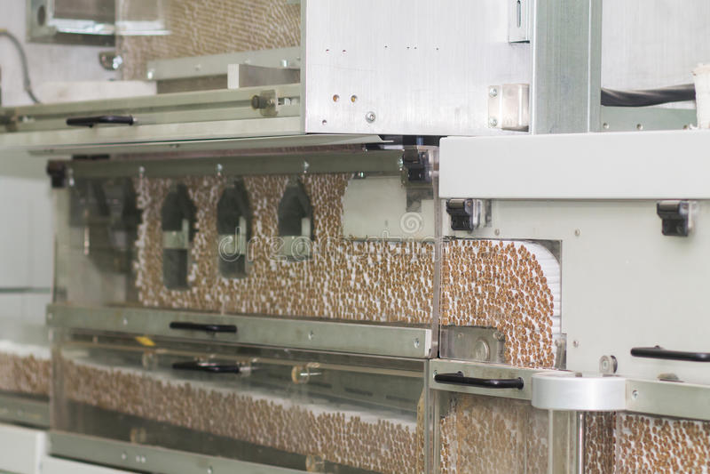 Tobakfabrik royaltyfria foton