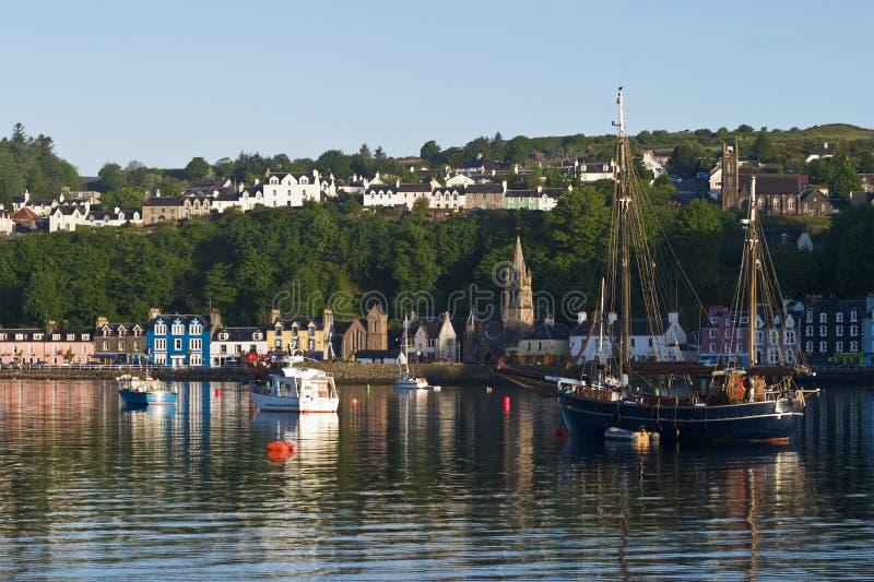 Download Tobermory harbor stock photo. Image of marine, mull, highland - 4672164