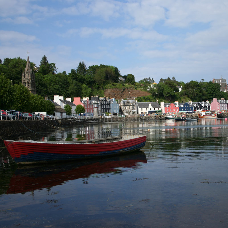 Free Tobermory Harbour Mull Royalty Free Stock Images - 4758909