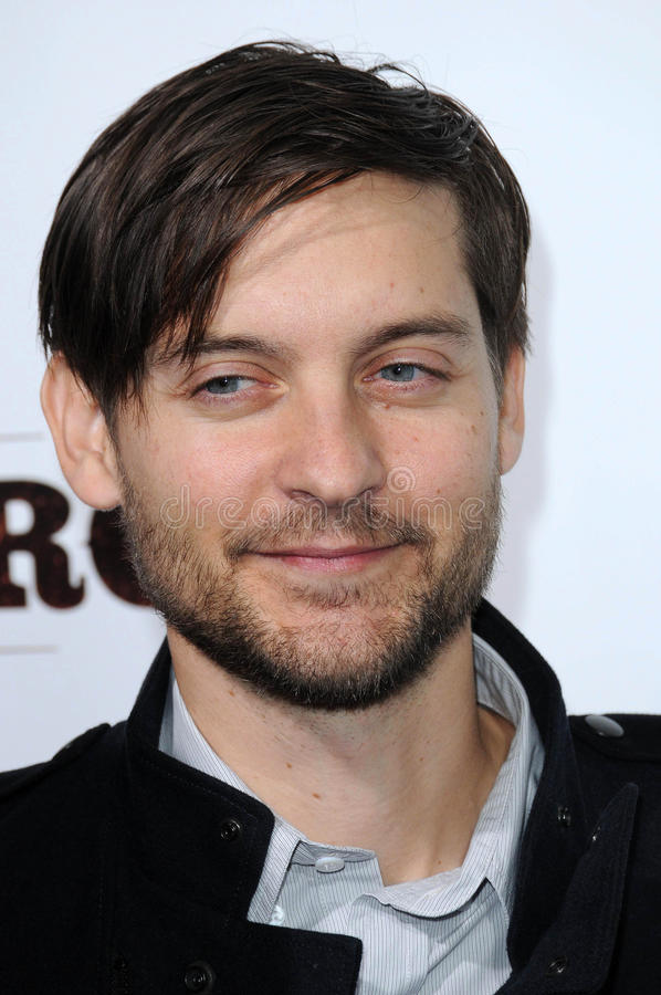 Tobey Maguire stock image