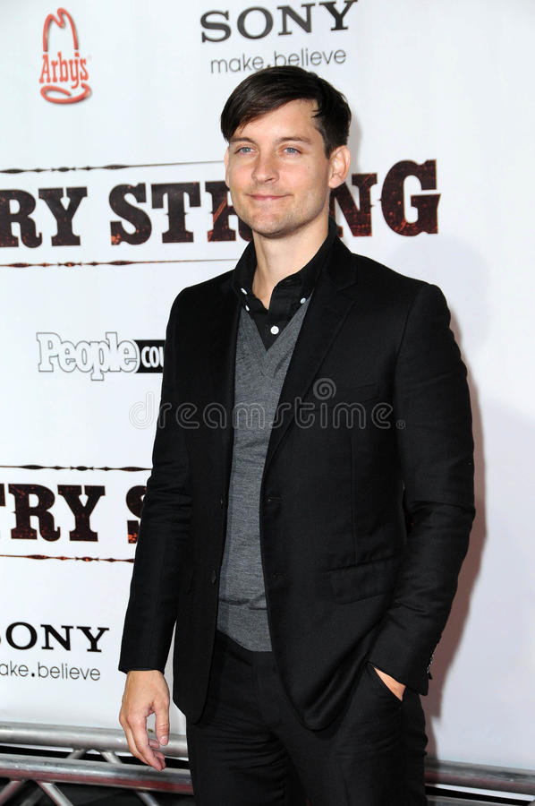 Download Tobey Maguire editorial stock image. Image of tobey, country - 25133719