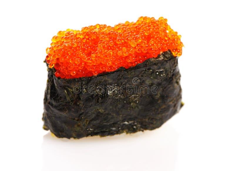 Tobiko sushi stock images