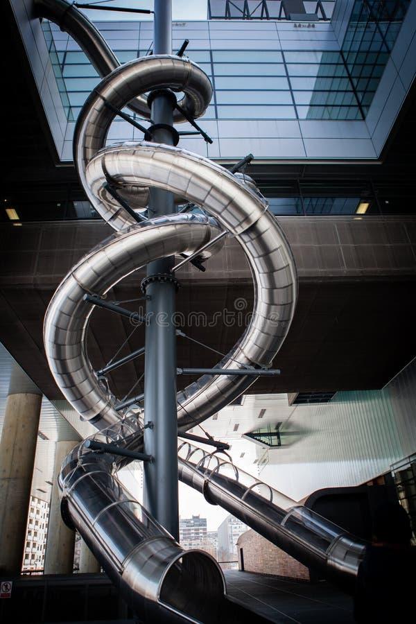 Toboggan della metropolitana fotografia stock libera da diritti