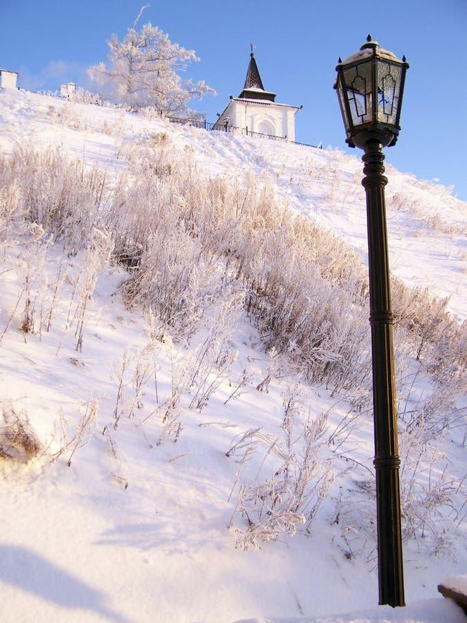 Tobolsk het Kremlin. Zuidwestentoren stock foto