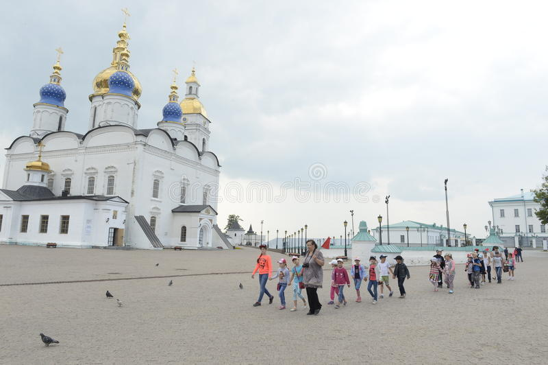 Tobolsk Kremlin stockfoto