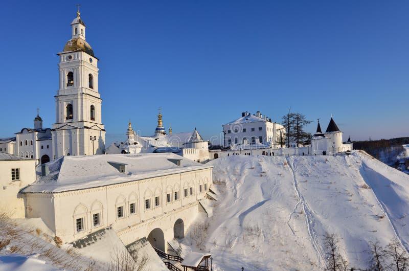 Tobolsk Kremlin royalty free stock photography