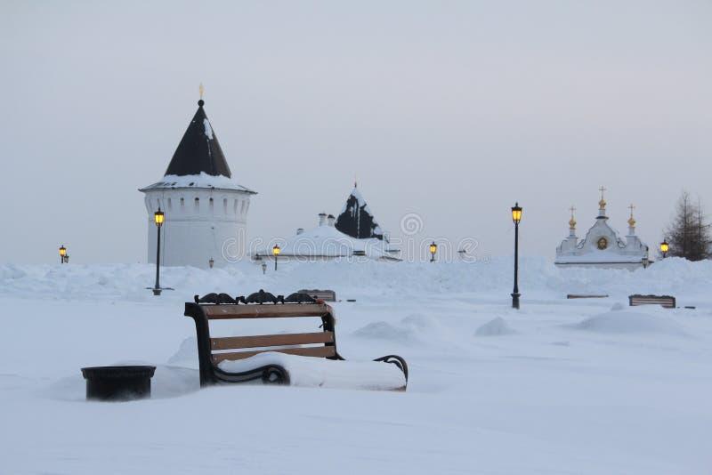 Tobolsk Ryssland arkivfoto