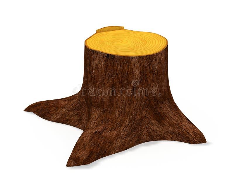 Tocón de árbol libre illustration