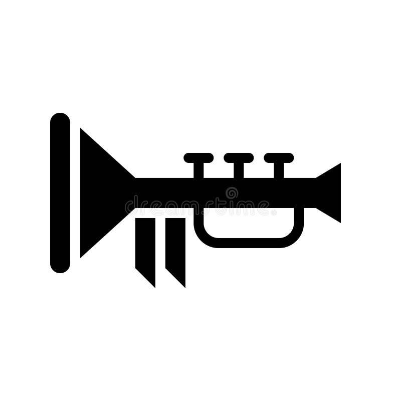 Toca la trompeta el vector, banquete de la línea icono de St Patrick ilustración del vector