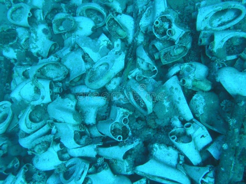 Tocadores subacuáticos fotografía de archivo