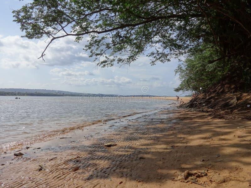 Tocantins-Fluss lizenzfreies stockbild