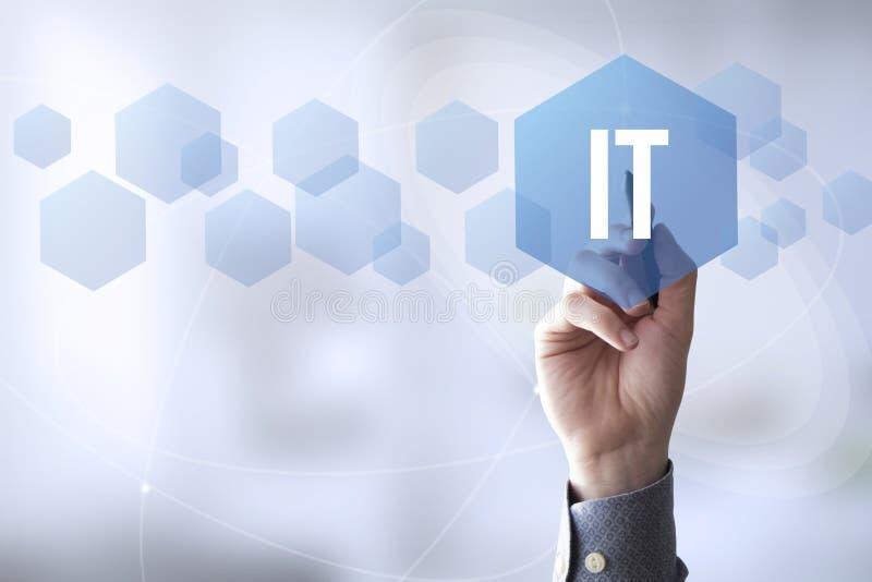 tocco l'IT della penna dei collegamenti immagine stock