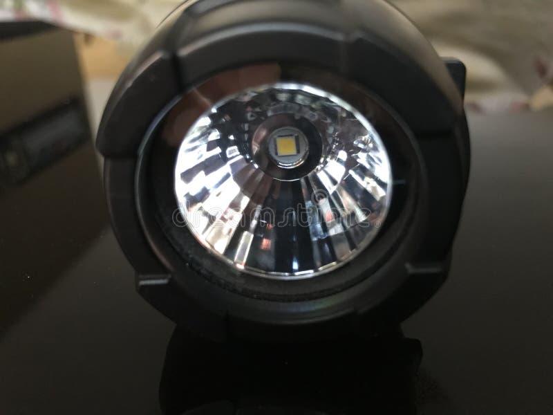 Tocco principale della lampada fotografie stock
