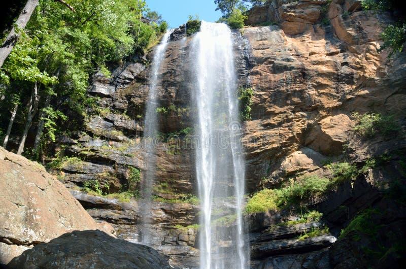 Toccoa faller vattenfallet fotografering för bildbyråer