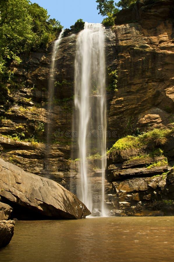 Toccoa Falls, Georgia royaltyfria bilder